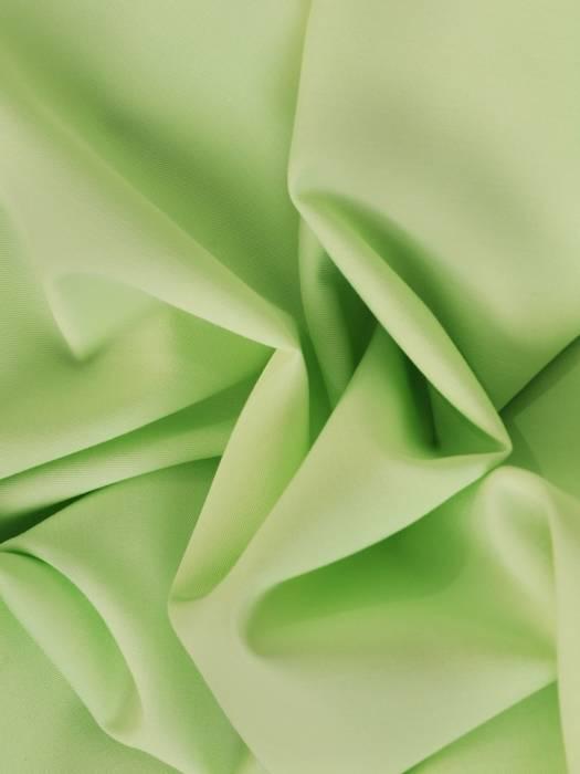 Pistacjowa suknia w asymetrycznym fasonie, nowoczesna kreacja na wesele 30457