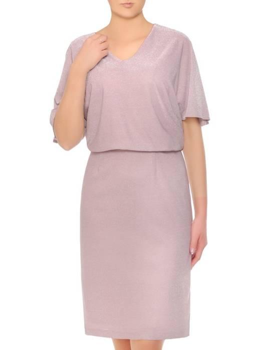 Połyskująca sukienka damska na wyjście 29367