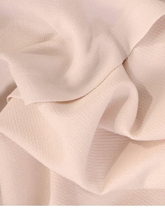 Prosta, kreszowana sukienka z ozdobnymi rękawami 29030