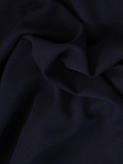 Prosta sukienka wizytowa, kreacja z odpinanym kołnierzykiem 24081