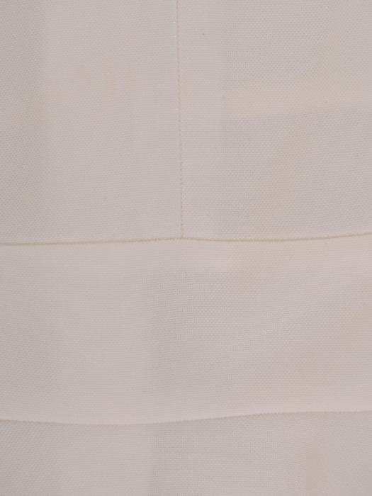 Rozkloszowana sukienka wizytowa, kreacja z połyskującej dzianiny 22480