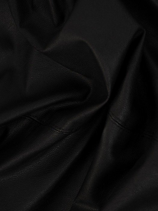 Skórzana spódnica z ozdobnym wiązaniem 23650