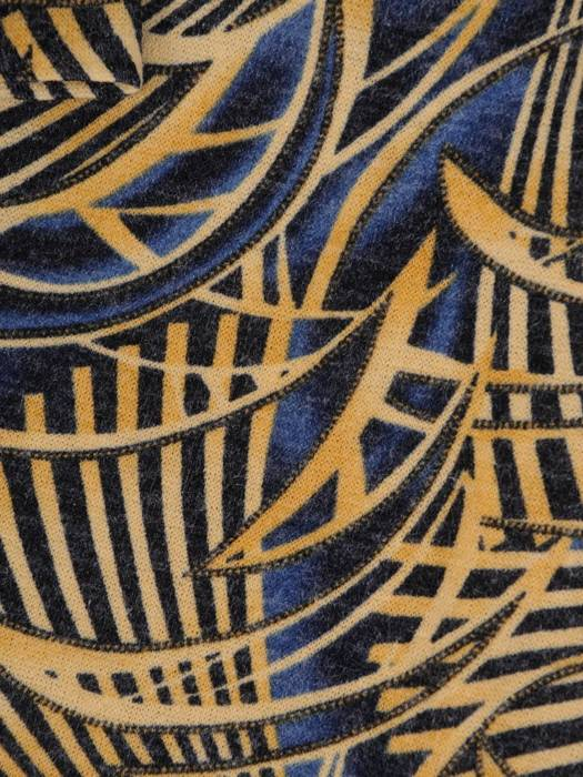 Sukienka codzienna, prosta kreacja w geometrycznym wzorze 27319