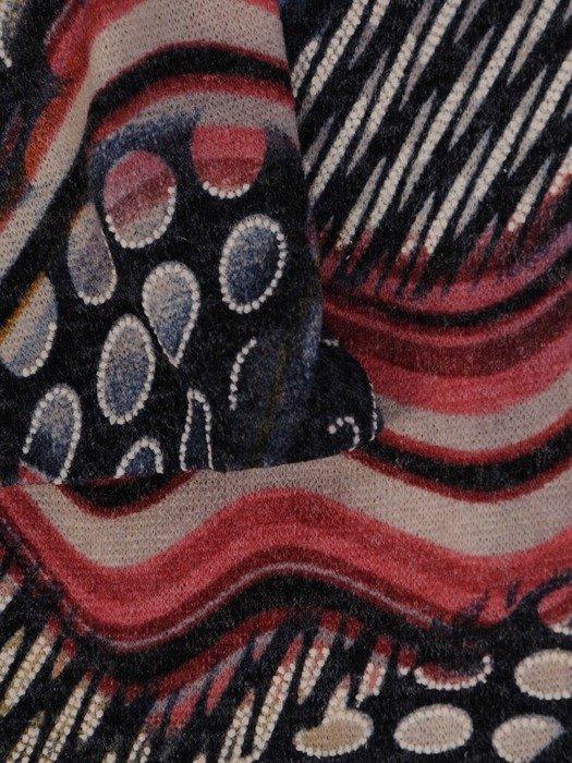 Sukienka codzienna, prosta kreacja w oryginalnym wzorze 23846