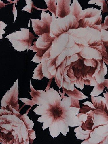 Sukienka damska 15027, wiosenna kreacja w kwiaty.