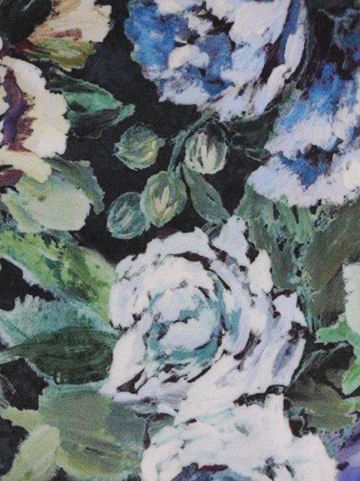 Sukienka damska 17400, zwiewna kreacja w kwiaty.