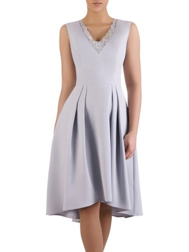 Sukienka damska Adrietta III, elegancka kreacja na wesele.