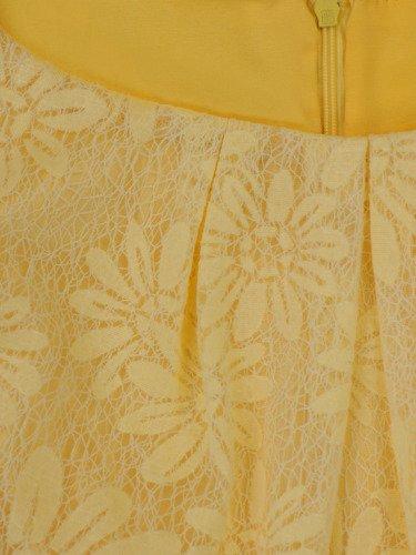 Sukienka damska Ariela, rozkloszowana kreacja z koronki.