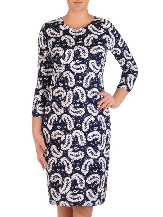 Sukienka damska Arlesa III, jesienna kreacja z dzianiny.