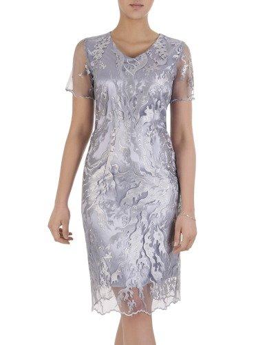 Sukienka damska Arleta IV, elegancka kreacja na wesele.