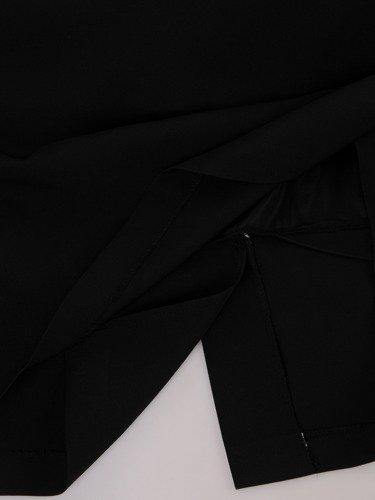 Sukienka damska Blanca I, elegancka kreacja z aksamitu.