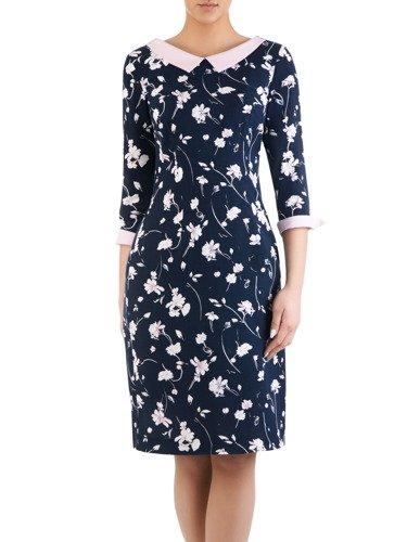 Sukienka damska Celestia XXIII, modna kreacja w kwiatowy wzór.