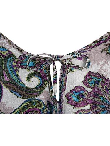 Sukienka damska Dalina, wiosenna kreacja w modnym wzorze.