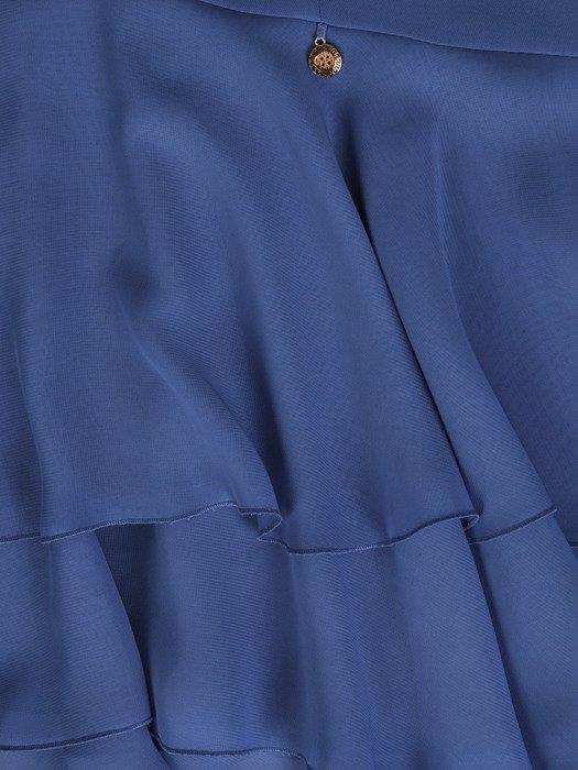Sukienka damska Esmeralda II, zwiewna kreacja z falbaną.
