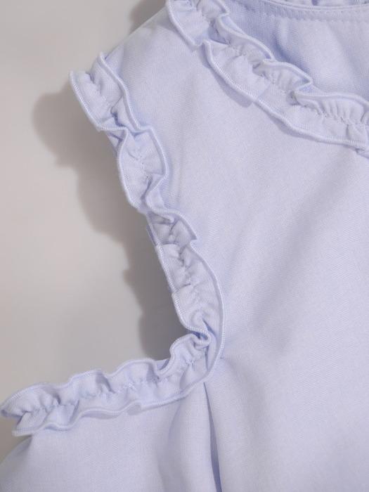 Sukienka damska Szeila III, wiosenna kreacja z oryginalnymi rękawami.