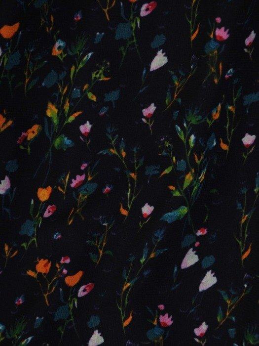 Sukienka damska, długa kreacja w delikatnym wzorze 24821
