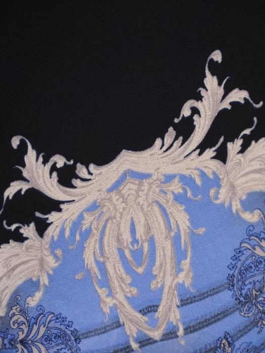 Sukienka damska z szyfonu, kreacja o wyszczuplającym wzorze 29574