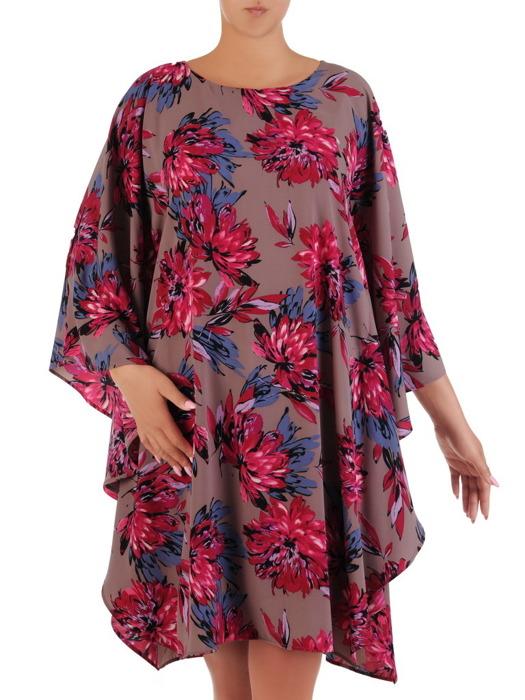 Sukienka damska, zwiewna kreacja w nowoczesnym fasonie 20973.
