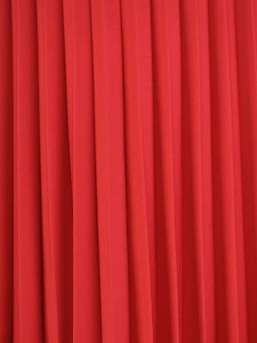 Sukienka koktajlowa, kreacja z plisowaną spódnicą 29791