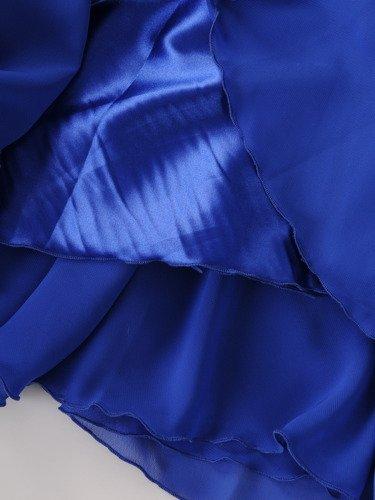 Sukienka na wesele Galina VI, długa kreacja z koronki i szyfonu.