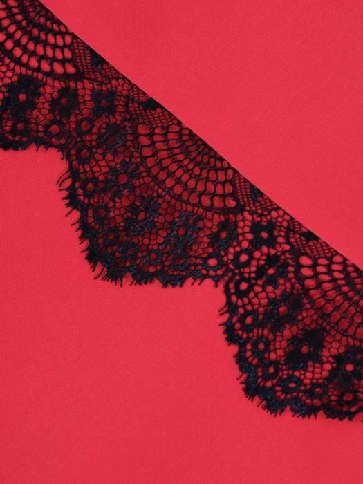 Sukienka na wesele, elegancka kreacja z tkaniny i koronki 26320