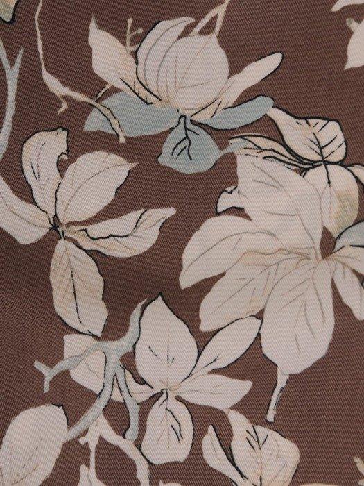 Sukienka w kwiaty, prosta kreacja wyjściowa 25464