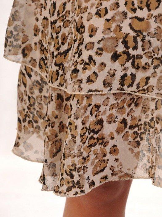 Sukienka w luźnym fasonie, zwiewna kreacja na lato 26087