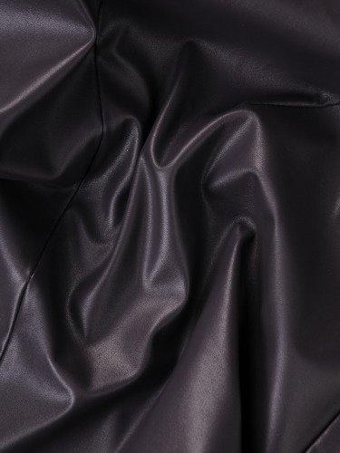 Sukienka w nowoczesnym stylu Lesedi I, jesienna kreacja ze skóry ekologicznej