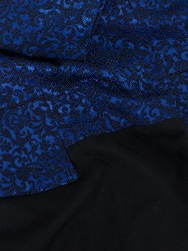 Sukienka wieczorowa Amandis III, elegancka kreacja w wyszczuplającym fasonie.