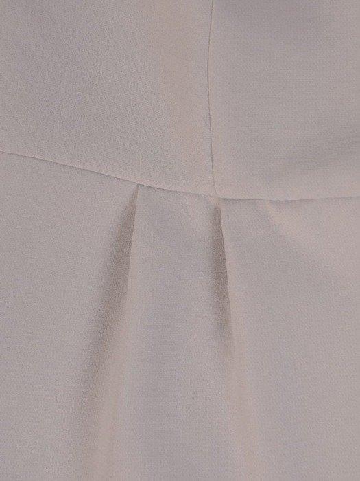 Sukienka wyjściowa, elegancka kreacja z ozdobnymi guzikami 26179