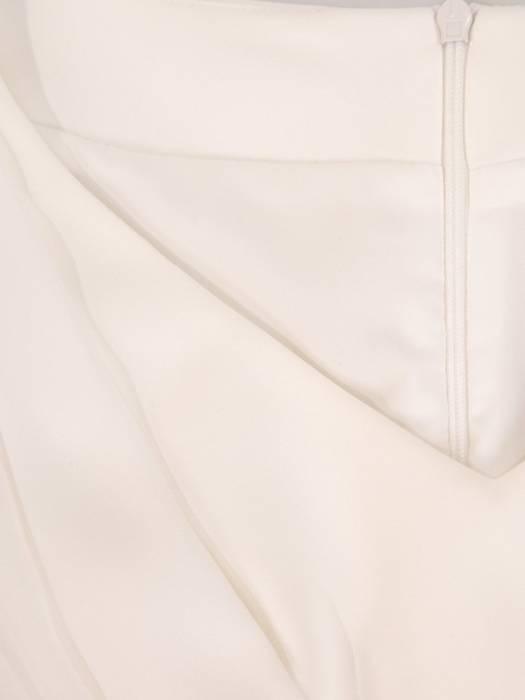 Sukienka wyjściowa, kreacja z szyfonowymi rękawami 28199
