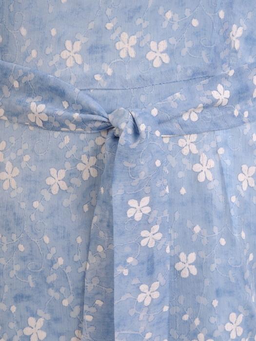 Sukienka wyjściowa, zwiewna kreacja z szyfonu 20723.