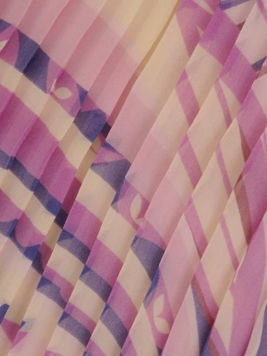 Sukienka z szyfonu, prosta kreacja na lato 26345