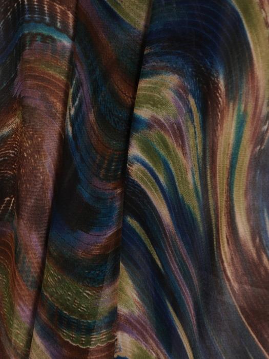 Sukienka z szyfonu, zwiewna kreacja w oryginalnym wzorze 20774.