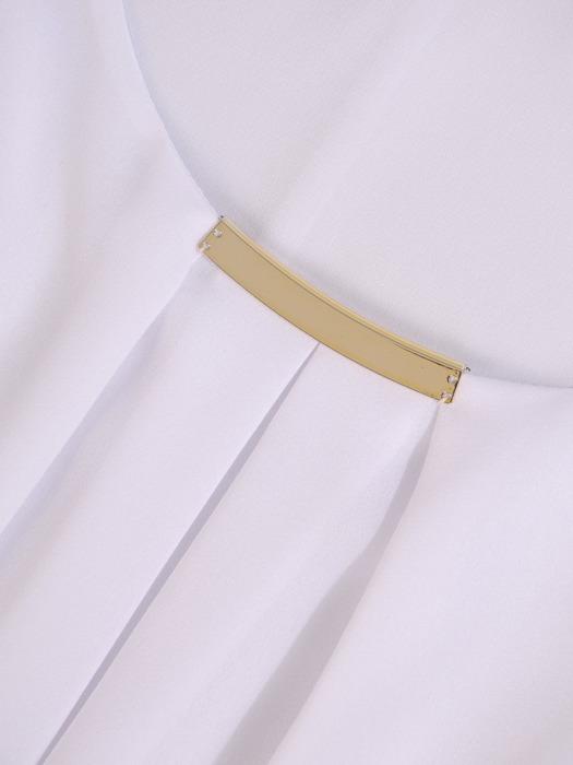 Szyfonowa bluzka w luźnym fasonie Nikoletta III.