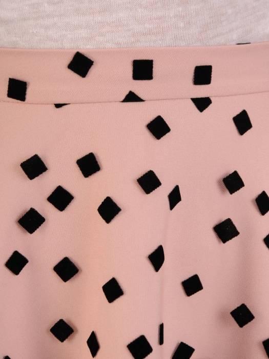 Tiulowa spódnica w groszki 28594