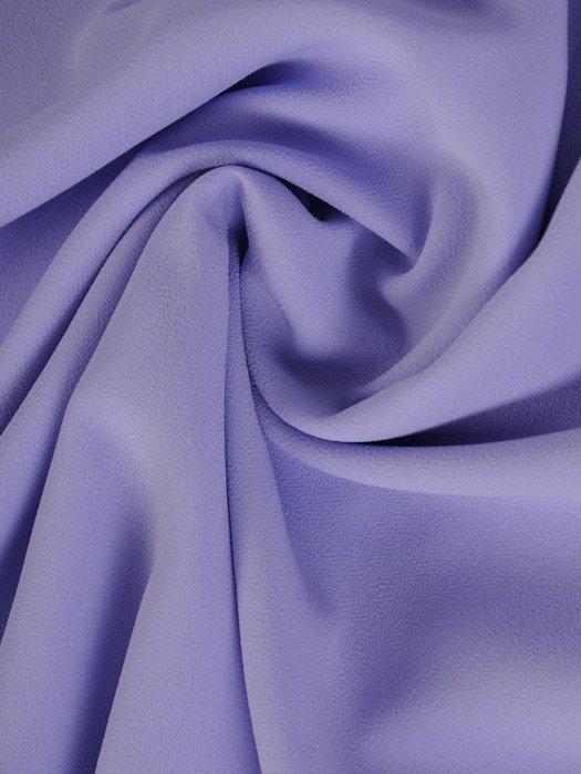 Trapezowa sukienka z szyfonu, kreacja z wiązaniem na rękawach 23431