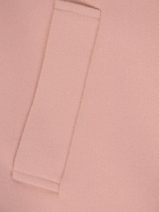 Wiosenny pudrowy płaszczyk z paskiem 28404