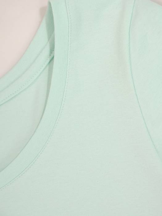 Wygodny komplet z dzianiny, T-shirt i spódnica 30153