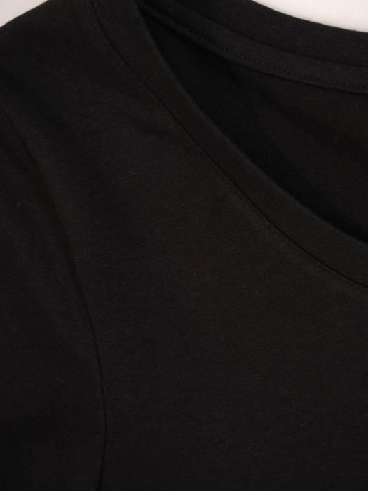 Wygodny komplet z dzianiny, T-shirt i spódnica 30154