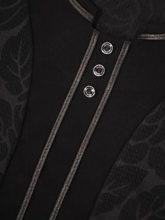 Wyszczuplająca bluzka z wytłaczanej dzianiny 29550