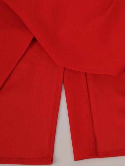 Wyszczuplająca sukienka z geometrycznymi wstawkami 17580.
