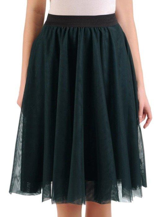 Zielona tiulowa spódnica 24894