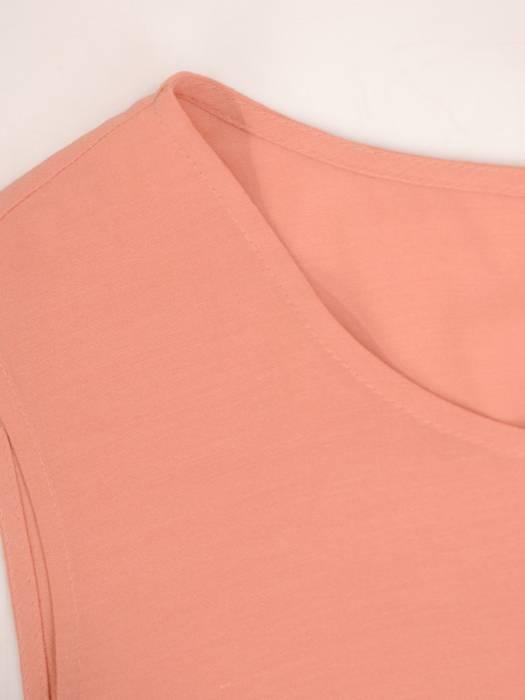 Zwiewna bluzka bez rękawów 30045