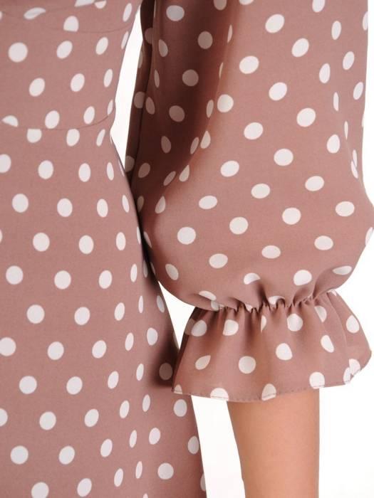Zwiewna, podkreślająca biust sukienka na wiosnę 29173