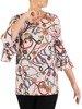 Bluzka damska z modnymi rękawami 26624
