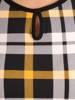 Bluzka z dzianiny w oryginalnym wzorze 28850