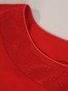 Czerwona sukienka wieczorowa, kreacja z szyfonową narzutką 24198