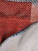 Dzianinowa rozkloszowana sukienka w geometryczny wzór 27318