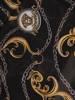 Elegancka sukienka maxi, kreacja z ozdobnymi rozcięciami na rękawach 30019
